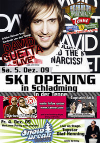 Skiopening in der Tenne Aftershow