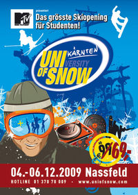 DocLX & MTV: University of Snow - Bacardi Party@Nassfeld Krnten