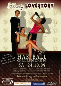 HAK-BALL Gmunden09 - Freaky Lovestory