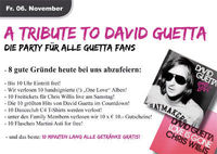 A tribute to David Guetta