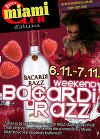 Weekend Bacardi Razz