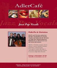 Jazz Pop Vocals @ Adler Cafe