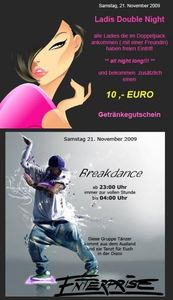 Ladies Double Night - Breakdancer