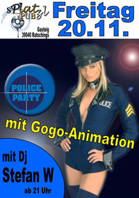 Police party@Platzl Pub