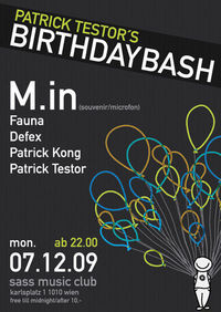 Patrick Testor's Birthday Bash