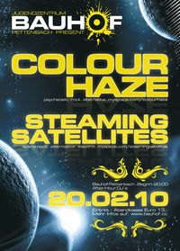 Colour Haze & Steaming Satellites