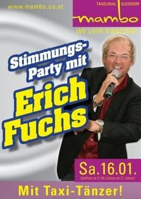 Stimmungs-Party mit Erich Fuchs