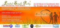 Limited Single Party    das exclusive flirt event