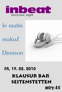 inbeat electronic night