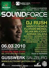 Heineken Music presents: Soundforce with DJ Rush