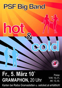 PSF Big Band live - Hot & Cold