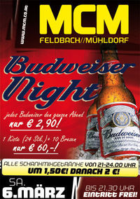 Budweiser Night!