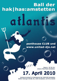 Atlantis - Ball der Hak/Has Amstetten