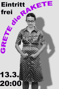 GRETE DIE RAKETE