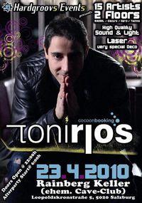 Hardgroovs presents: TONI RIOS