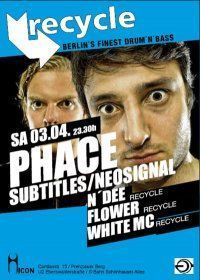 Recycle - D&#39;n&#39;B: Phace