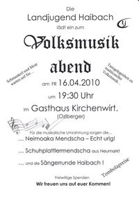 Volksmusik Abend