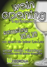 Wine Opening - Spritzer Party