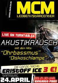 Akustikrausch live on turntables!