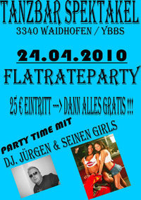 2. Flatrateparty