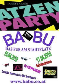 Atzen Party@BaBu