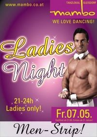 Ladies Night mit Men Strip
