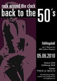 BRG Frühlingsball - Back to the 50's