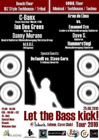 Let the Bass kick! Tour 2010