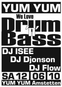 We love Drum'n'Bass