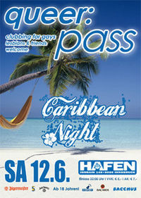 queer:pass - Caribbean Night