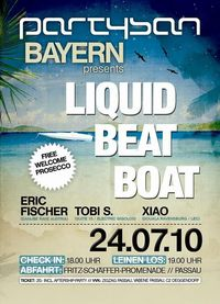 Partysan presents: Liquid Beat Boat / Passau // with Eric Fischer