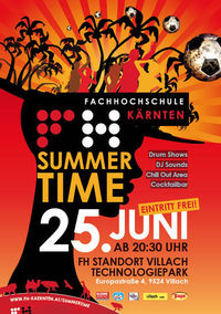 Summertime Party 2010 - FH Kärnten