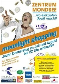 Moonlightshopping@Mondsee