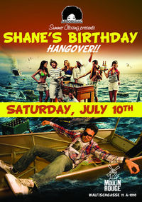Afrodisiac Summer Closing presents: Shane&#39;s Birthday Hangover