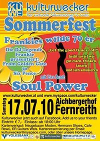 Sommerfest - Frankies wilde 70er