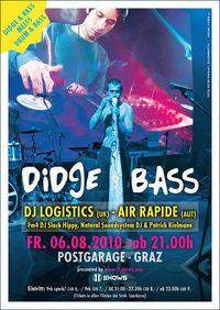DIDGE & BASS meets DRUM & BASS in Graz@Postgarage