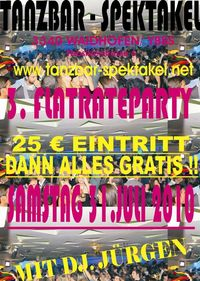 3. Flatrateparty