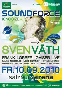 heineken music pres. Soundforce K.I.N.G.S.I.Z.E. with Sven Vth