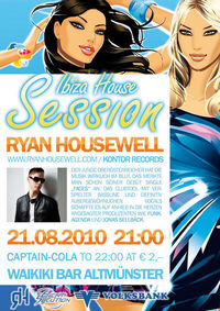 Ibiza House Session with Ryan Housewell