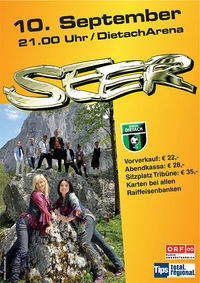Open Air Konzert der Seer