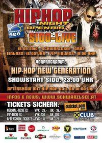 Hip Hop Night – SIDO Live@Schwarzl See