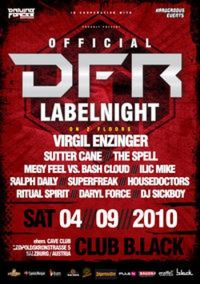 Driving Forces Rec. Labelnight with Virgil Enzinger