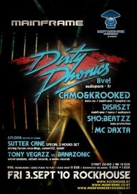 D.E.R. DRINK presents: Mainframe feat. Dirtyphonics live!