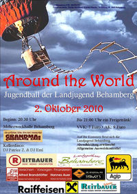 Jugendball Behamberg - Around the World