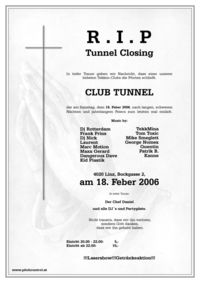Tunnel Closing Party
