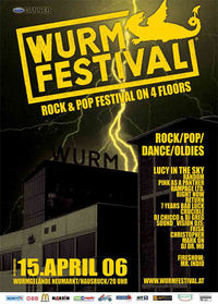 Wurmfestival on 4 floors