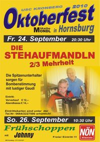 Oktoberfest@Hornsburg - mondl halle