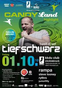 Candy Land Highlight - Tiefschwarz