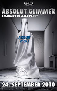 Absolut Glimmer - exclusive release party