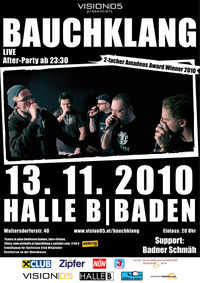 Bauchklang LIVE + Afterparty